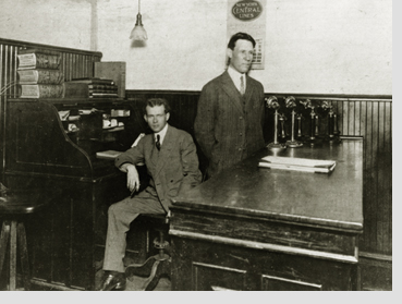Jim Casey (l) and Claude Ryan (r) - UPS