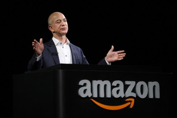 Amazon CEO Jeff Bezos  Photo by David McNew/Getty Images