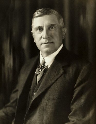 Charles M. Schwab (1862-1939) was the president of both the Carnegie Steel Corporation and Bethlehem Steel. --- Image by © Bettmann/CORBIS