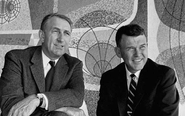 William Hewlett and David Packard - Founders of Hewlett-Packard